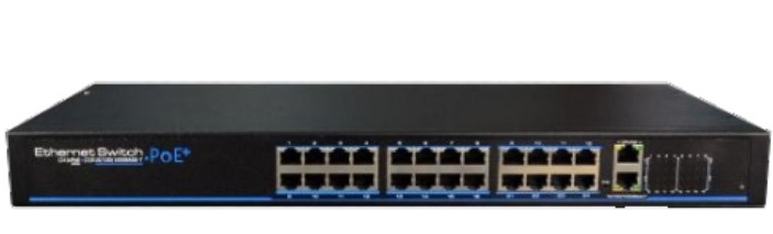 24-Port 10/100Mbps PoE Managed Switch IONNET IFS-2624W (420)