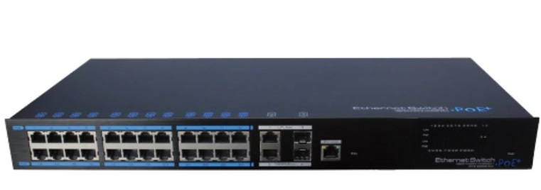 24-Port 10/100Mbps PoE Managed Switch IONNET IFS-2824W (450)
