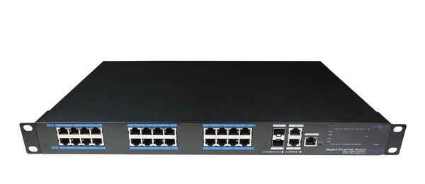 24-Port 10/100/1000Mbps PoE Managed Switch IONNET IGS-2824W (450)