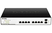 Thiết bị mạng D-Link | 8-Port Gigabit EasySmart (Max) Managed PoE Switch D-Link DGS-1100-10MPP