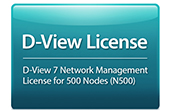 Thiết bị mạng D-Link | D-View 7 Network Management System (NMS) License for 500 Nodes D-Link DV-700-N500-LIC