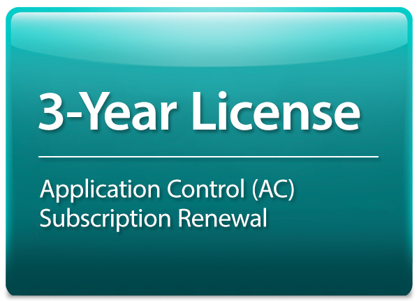 3-year License for DFL-870 supporting Application Control D-Link DFL-870-AC-36-LIC