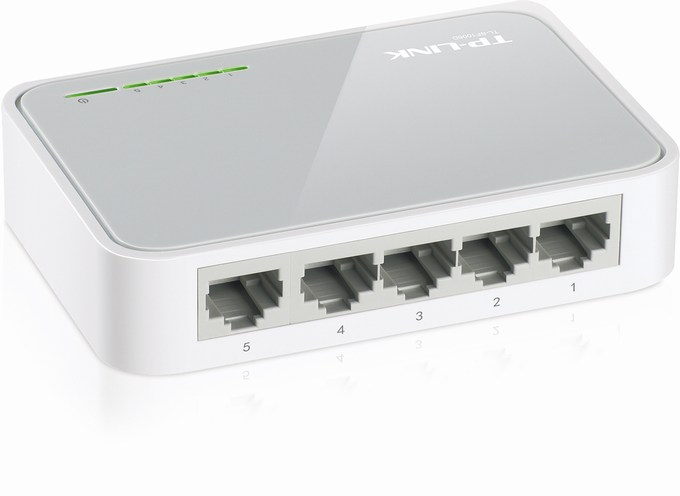 5-Port 10/100Mbps Switch TP-LINK TL-SF1005D