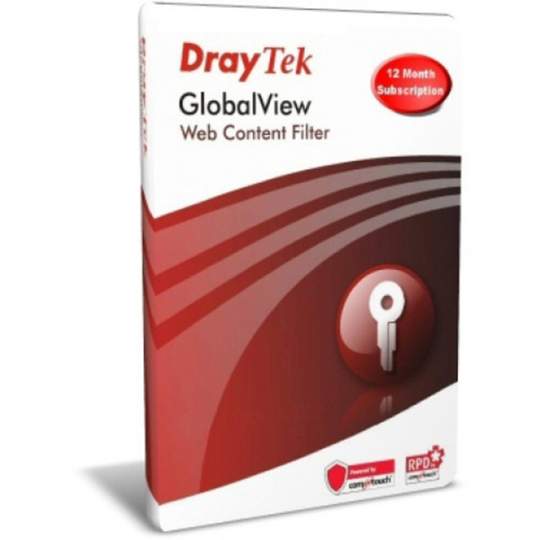 License key CommTouch Web Content Filter DRAYTEK A Card