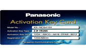 Tổng đài IP Panasonic | Activation Key IP Trunk PANASONIC KX-NCS4104