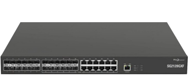 24-port 1000Base-X SFP Security Switch HANDREAMNET SG2128GXF