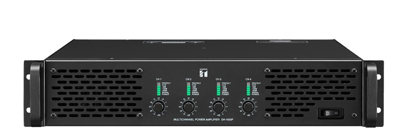 Multichannel Power Amplifier TOA DA-1000F