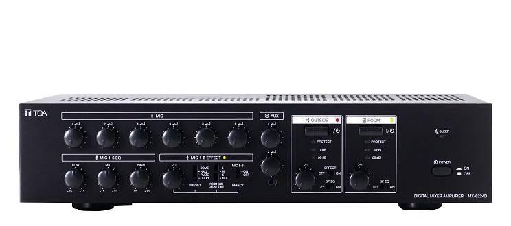 Digital Mixer Amplifier TOA MX-6224D