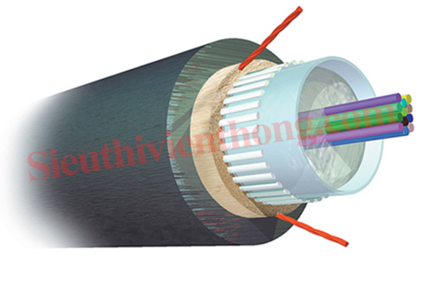 Outdoor All-Dielectric Fiber Optic Cables 12F Single Mode COMMSCOPE (Y-1427452-4)