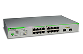 Switch ALLIED TELESIS | 16 port 10/100/1000T ports WebSmart Switch ALLIED TELESIS AT-GS950/16