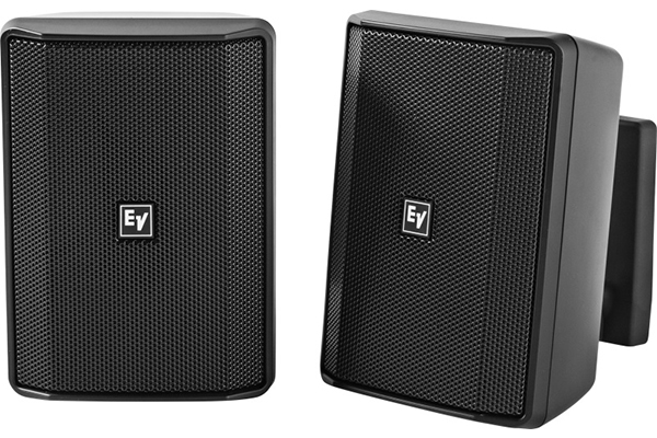 Speaker 4 inch cabinet 8Ω black pair Electro-Voice EVID-S4.2B