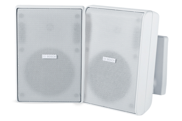 Cabinet speaker 5 inch 70/100V white pair BOSCH LB20-PC30-5L