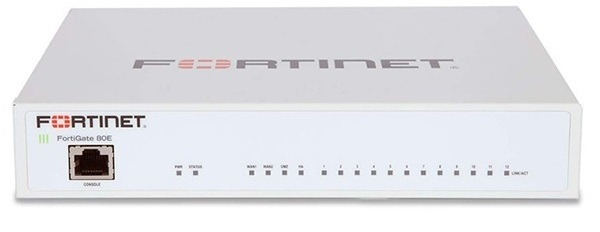 14 x GE RJ45 ports Firewall with Bundle FORTINET FG-80E-BDL-950-12