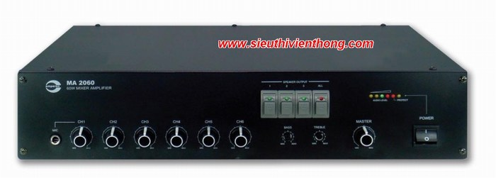 Mixer Amplifier AMPERES MA2012