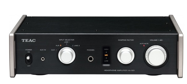 Dual-Monaural Headphone Amplifier TEAC HA-501