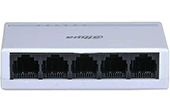 Switch DAHUA | 5-Port 10/100Mbps Switch DAHUA DH-PFS3005-5ET-L