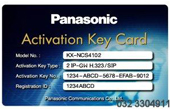 Tổng đài IP Panasonic | Activation key IP Trunk PANASONIC KX-NCS4102