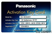 Tổng đài IP Panasonic | Activation key IP softphone IP-PT KX-NCS4201