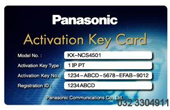 Tổng đài IP Panasonic | Activation key IP-PT PANASONIC KX-NCS4501