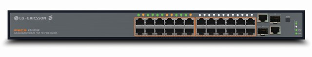 24 port PoE Managed Switch LG-ERICSSON ES-2026P