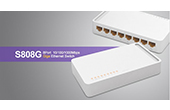 | 8 ports 10/100/1000Mbps Switch TOTOLINK S808G