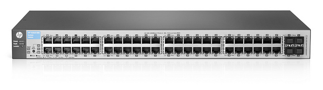 Smart-managed HP 1810-48G Switch - J9660A