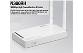 | 300Mbps Wireless N Router TOTOLINK N300RH